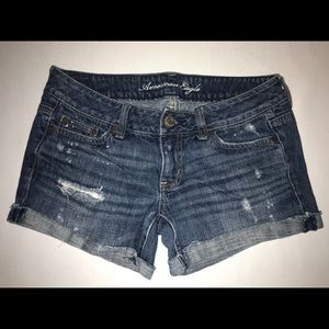 American Eagle Shorts, Distressed